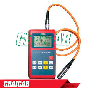 Coating Thickness Gauge Testing Non magnetic Materials Leeb221 Eddy Current