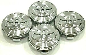4 Pcs Toyota Wheel Center Hub Cap Chrome 62 Mm 2 44 Camry Corolla Avalon