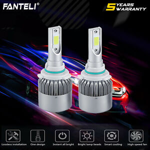 1400w 9006 Hb4 Led Headlight 210000lm Vehicle Car Low Beam Bulbs Kit Hid 6000k