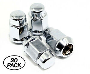 20 14x1 5 Chrome Acorn Tuner Wheel Lug Nuts 3 4 Hex Ford Mustang 2015 2016