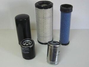 Mahindra Tractor Economy Pack Of 5 Filters 0455 0456 6648 3247 0316