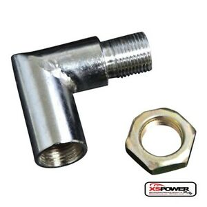 304 Stainless Steel O2 Oxygen Spacer Sensor Extension Fit 90 Degrees 0