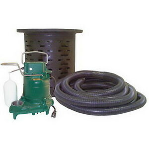 Zoeller 53 Series Crawl Space Pumping System 115 Volt 3 10 Hp