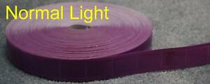 50 yard Purple Gloss Sew On Reflective Tape Pvc 1
