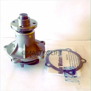Water Pump Toyota Forklift 16120 7805271 5r Engine Wholesale Parts W Gasket