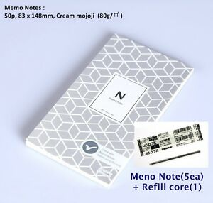 Neo Memo Note For Neo Smartpen N2 Memo Note 5ea refill Core 1ea free Shipping