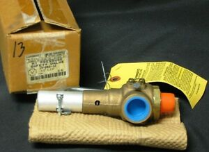 Conbraco 19 202 12 Size 1 2 55 Psi Bronze Safety Relief Valve New Model 19 dc