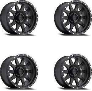 Method Race The Standard Mr30168060500 Wheel Rims 16x8 0mm 6x139 7 Black