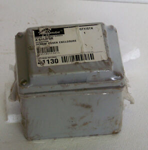 A645jfgr Hoffman Screw Cover 6 x4 x5 Enclosure Fiberglass