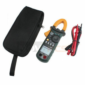 New Mastech Professional Ms2108 6600 Counts Ac Dc Current Clamp Meter Backlight