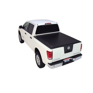 Truxedo 797301 Deuce Soft Roll Up Hinged Tonneau Cover For Titan W 5 6 Bed