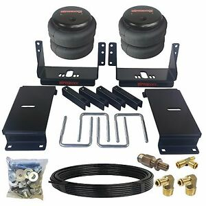 Towing Air Suspension Kit Fits 80 96 Ford F100 F150 Tow Over Load Bag Rear Level