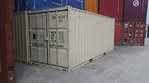 New 20ft Shipping Container Omaha Ne
