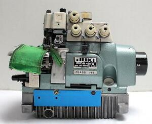 Juki Mor 816 Overlock 2 needle 5 td Top Feed Industrial Sewing Machine Head Only