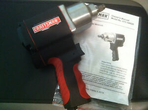 Brand New Craftsman 1 2 Inch Drive Tire Socket Air Impact Wrench Gun 875 16882