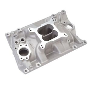 Edelbrock 2114 Performer Intake Manifold For Chevy 3 8 4 3l V6 W Vortec Heads
