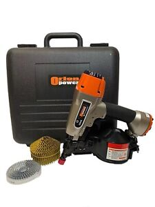 Orion Power Cn45 Professional Conical Coil Nail Gun With The Case