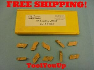 10 Pcs New Agi Vr wesson Vrg 3189 L Vr680 Top Notch Style Inserts 84662
