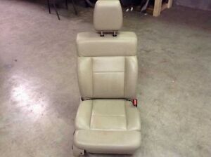 2004 2008 Ford F150 Crew Cab Front Right Bucket Captains Seat Leather Power Tan