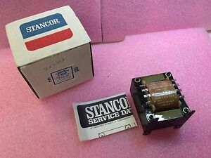 P 8618 Stancor Transformer Power 96va 115 230v 24vct 2a 1 Unit Nib