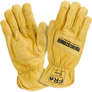 Youngstown Fr Arc rated Ground Gloves Lined With Kevlar Large