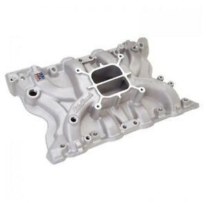 Edelbrock 2171 Modified Performer 351m 400 Intake Manifold For Ford 350 400ci