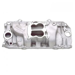 Edelbrock 2161 Performer 2 0 Intake Manifold For Chevy Big Block 396 502cu V8