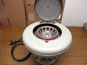 Iec International Clinical Centrifuge Model Cl W 12 Place Rotor Tested Working