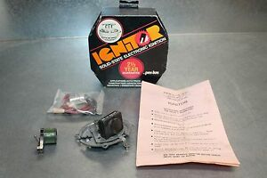Nos Per Lux Ignitor 1161 Solid State Electronic Ignition Delco 6 Distributors