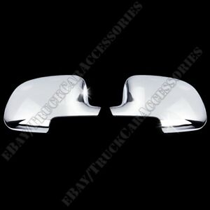 For Chevy Suburban 2000 2001 2002 2003 2004 2005 2006 Chrome Mirror Covers Full