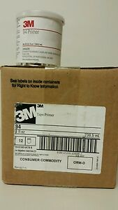 12 Pack Case 3m Tape Primer 94 1 2 Pint 8oz Adhesion Promoter For 1080 Wraps