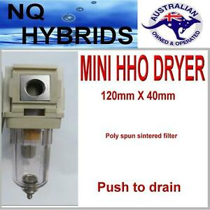 Hho Gas Dryer Filter Trap Cleaner With 1 4 Npt Thread Hydrogen Generator