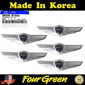 Oem Tailgate Trunk Wing Emblem 5pcs For Hyundai Genesis 2015