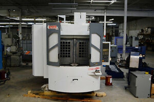 Kiwa Knh 426x Horizontal Machining Center With Fanuc 18imb Control