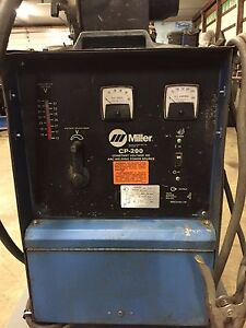 Miller Cp200 Arc Welding Power Source Mig Welder Miller S52 E Feeder