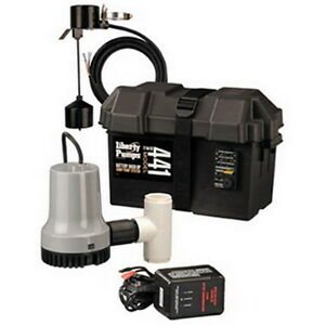 Liberty Pumps Model 441 12 volt Battery Back up Emergency Sump Pump System