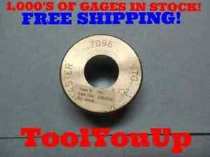 Master 7096 Smooth Plain Bore Ring Gage 7031 0065 Oversize Machine Shop