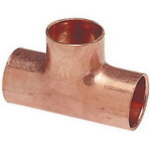 Nibco 611r Wrot Copper Tee 4 X 4 X 3 4