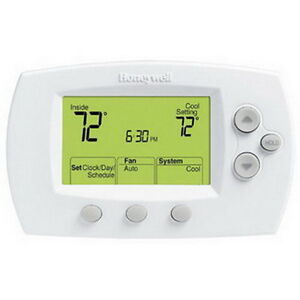 Honeywell Th6220d1028 Focuspro 6000 Programmable Digital Thermostat 2h 2c