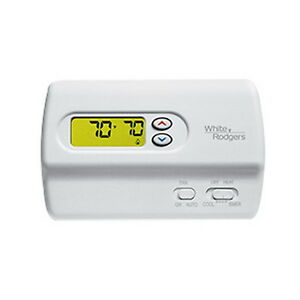 White Rodgers 1f89 211 Heat Pump Non programmable Digital Thermostat 2h 1c