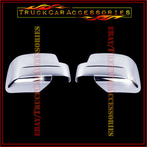 For Jeep Patriot 2008 2009 2010 2011 2012 2013 2014 Chrome Full Mirror Covers 2
