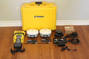 Trimble Dual R8 Model 3 Gps Gnss Glonass Base Rover Rtk System Tsc2 Access