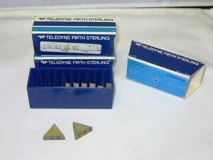 Box Of 10 Teledyne Firth Sterling Tpg 432 Hn Inserts