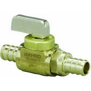 Viega V5037zl Brass Pex Crimp Ball Valve 1