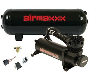 Air Compressor 480 Black Airmaxxx 3 Gallon Air Tank Drain 120 On 150 Off Switch