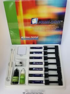 Hybrid Composite Vlc Resin Based Restorative 7 Seringe Kit Prime Dent Exp05 2021
