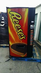 Dixie Narco Cold Candy Bar Vending Machine