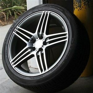 Set4 20 20x9 5 5x112 Wheels Tires Mercedes Benz Amg W164 W166 Ml350 Ml550 Ml63