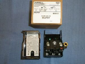 69jf6y Air Compressor Pressure Switch 80 100psi Furnas hubbell New