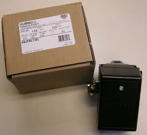 69jf8ly2c Air Compressor Pressure Switch 115 150psi 69mb8ly2c Furnas hubbell